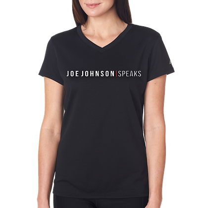 Joe Johnson Speaks Women's (V-Neck)