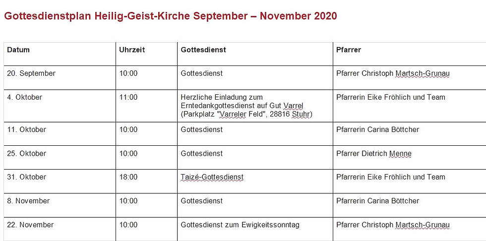 Gottesdienstplan_Heilig-Geist-Kirche_Sep