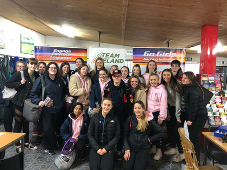 GALWAY SCHOOLGIRLS COMBINE EDUCATION AND MOTORSPORT IN NEW 'GO GIRLS' INITIATIVE