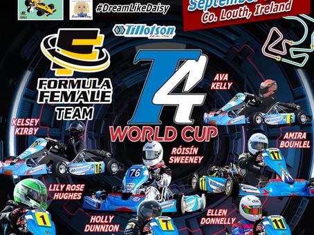 Formula Female team for Tillotson T4 World Cup 2021 #DreamLikeDaisy