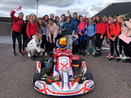 CORK SCHOOLGIRLS BECOME THE FIRST TO COMBINE EDUCATION & MOTORSPORT IN NEW 'GO GIRLS' INITIATIVE