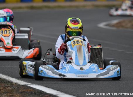 STRONG PERFORMANCE BY ALYX COBY AT IAME FRANCE LADIES KARTING CUP