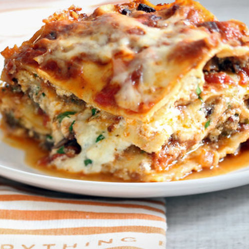 In the Mix - Beef Lasagna (available in medium or large)