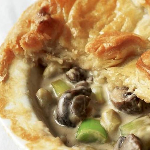 In the Mix - Mushroom, Kumara & Leek Pie (available in medium or large)