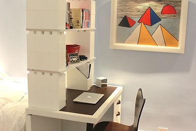lego bookshelves-EverBlockNZ