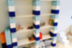 lego shelves for kids' rooms