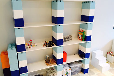 lego shelves for kids' rooms
