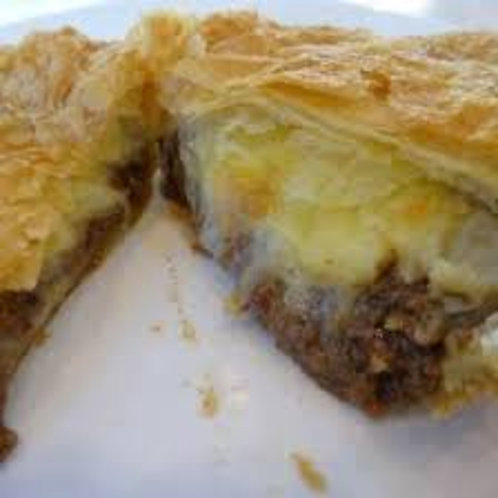 In the Mix - Mince & Cheese Pie (available in medium or large)