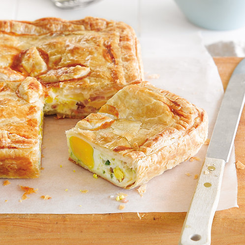 In the Mix - Bacon & Egg Pie (available in medium or large)