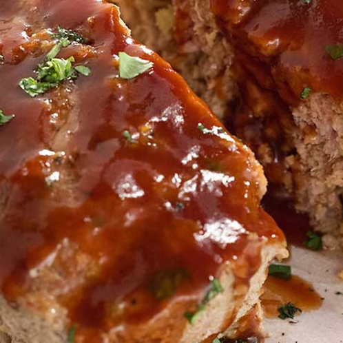In the Mix - BBQ Meatloaf (available in large)