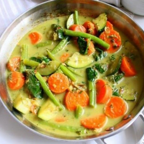 In the Mix - Thai Green Vege Pie (available in medium or large