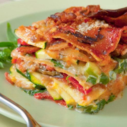In the Mix - Vegetable Lasagna (available in medium or large)