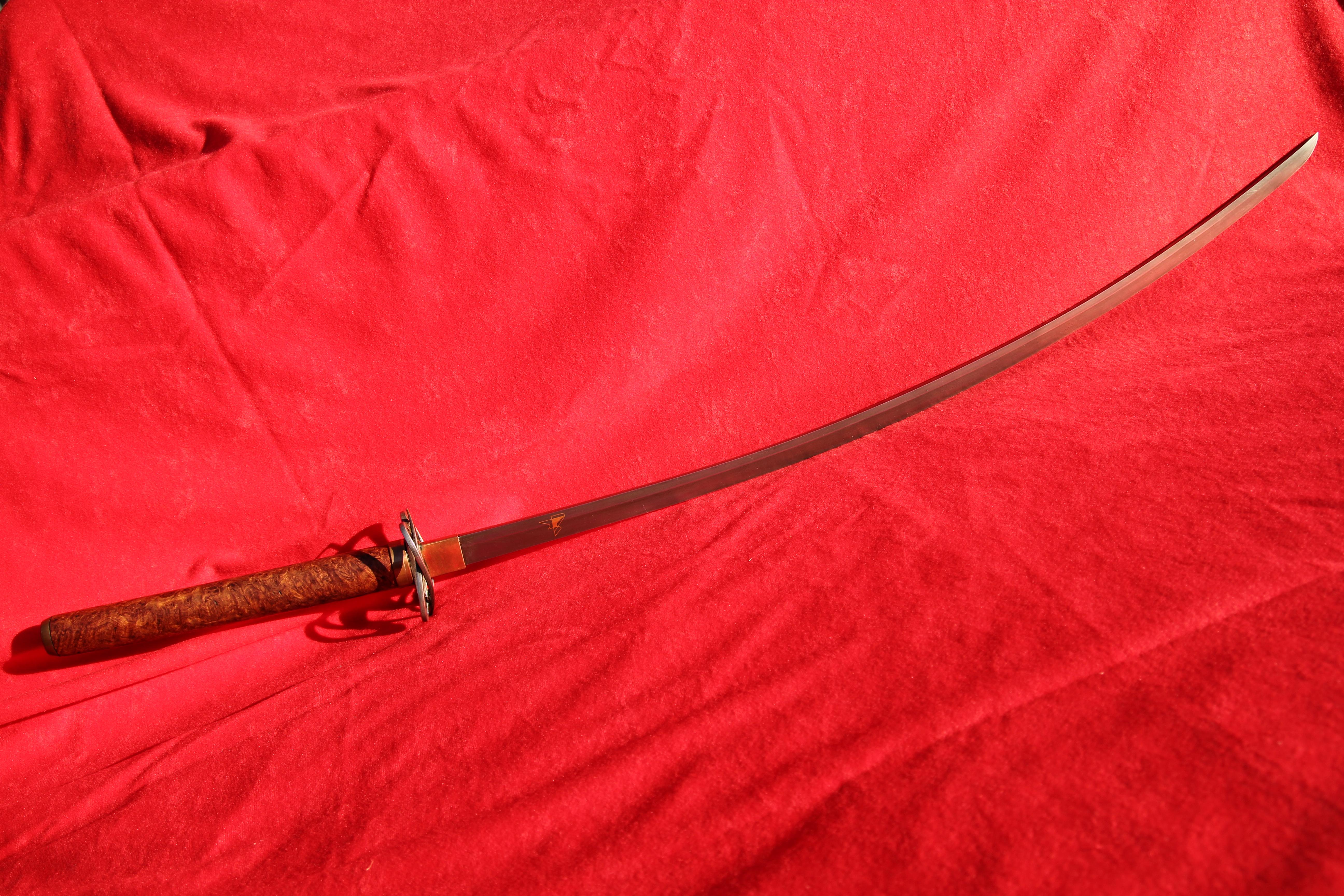 Schwert Damast