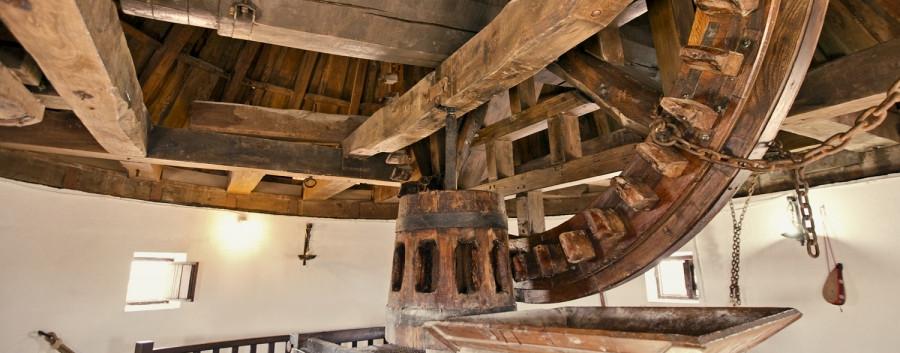 Molinos de Mota del Cuervo, interior