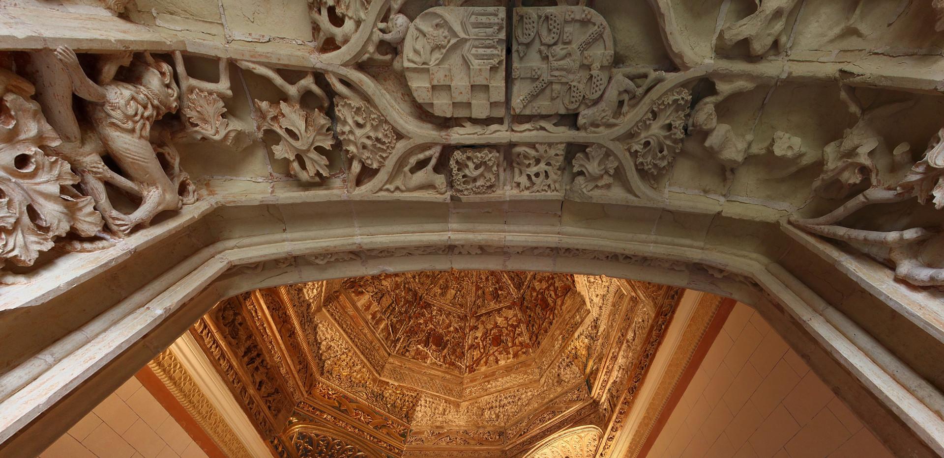 Castillo de Belmonte interior
