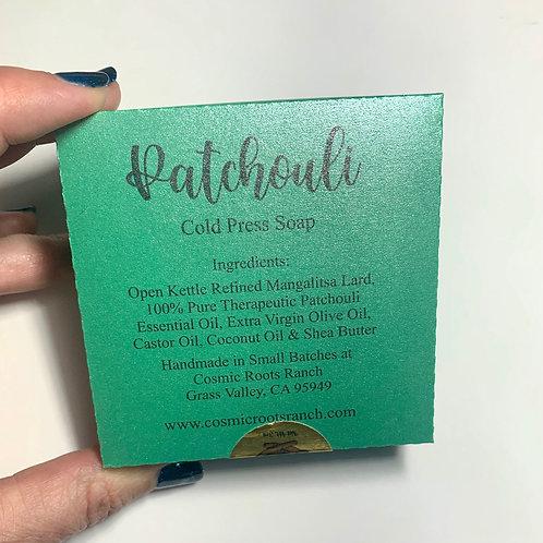 Patchouli Mangalitsa Lard Soap