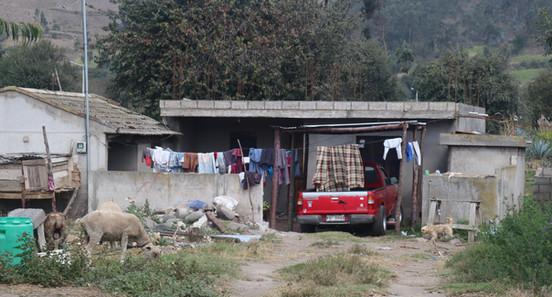 A house in Salasaca