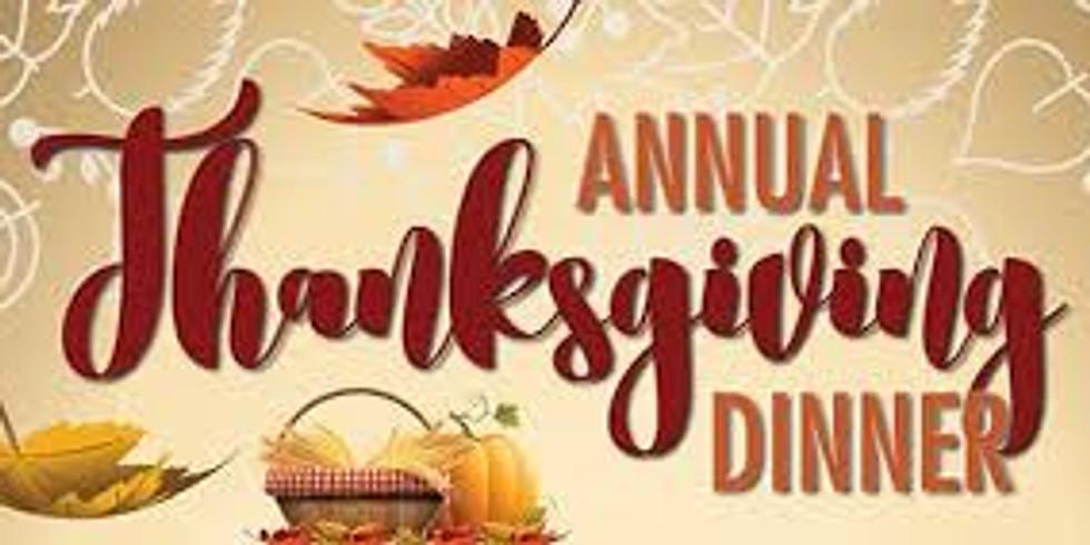 TCC Annual Thanksgiving Dinner