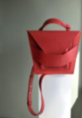 red leatherbag designerbag