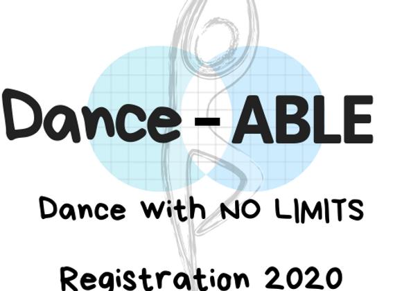 Dance-ABLE Registration 2020