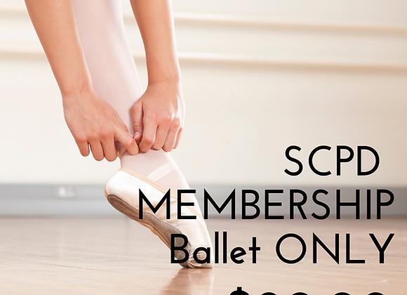 SC Membership BALLET ONLY
