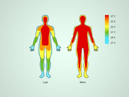 70% of our diseases start from low body temperature !