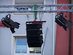 Eventtechnik für Stadtfeste