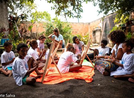 Para as crianças, tudo:  Conheça o Projeto A Arte Salva
