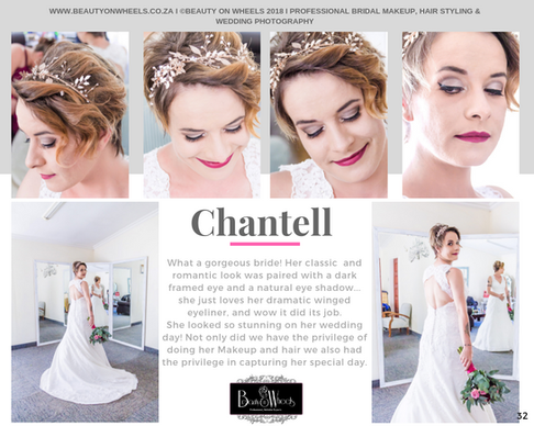 Our Beautiful Bride Chantell Roux