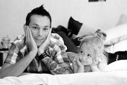 Jay & Lexi Daddy Daughter Photoshoot