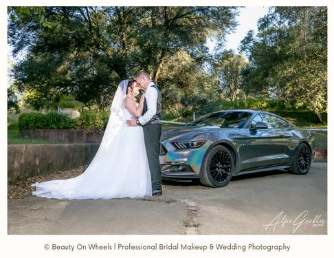 Jaydean & Gareth Wedding l The Bridge wedding venue l Beauty On Wheels