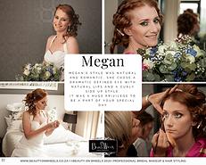Megan Bridal Makeup & Hair Styling