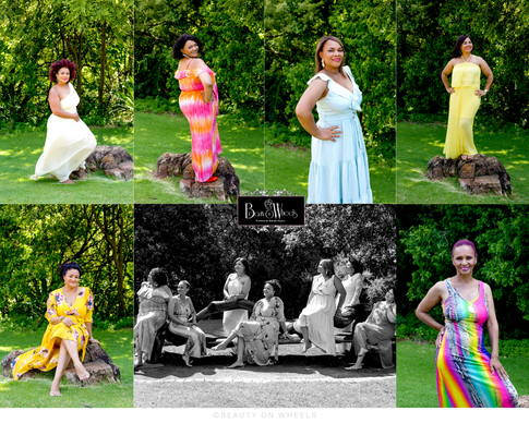 Rhonell Friendship Photoshoot l Professional Makeup & Photography l Walter Sizulu Botanical Garden
