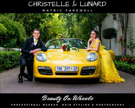 Christelle & Lunard Matric Farewell