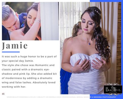 Our Beautiful Bride Jamie Meyer