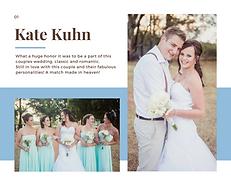 Kate Kuhn Wedding
