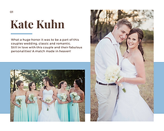Kate Kuhn Wedding
