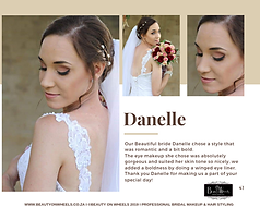 Our Beautiful Bride Danelle