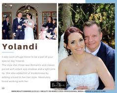 Yolande Wedding