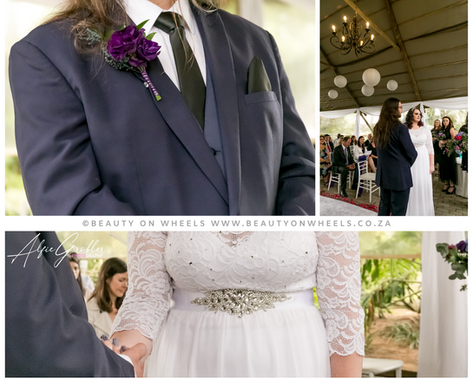 We had the huge privilegeto be a part of Leigshe & Robert's special day at The Forest walk wedding venue, we were so privilegedto be a part of their journey. Thank you for entrusting me with your makeup, hair and wedding photography.