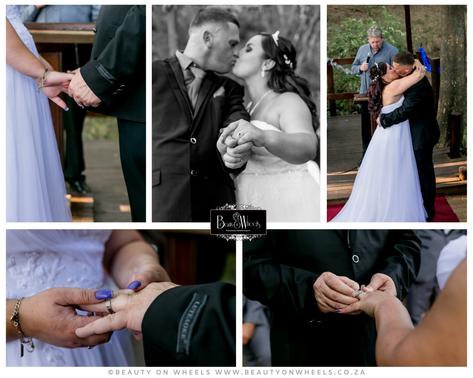 Jessica & Cobus Wedding, Professional Bridal Makeup, Hair Styling & Wedding Photography