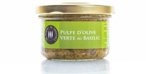 Pulpe d'Olive verte au Basilic
