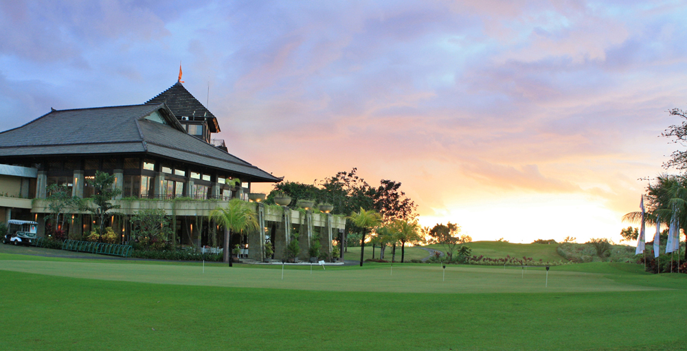clubhouse at New Kuta Golf