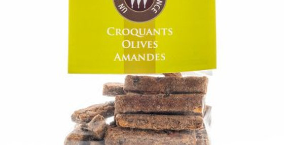 Croquants Olives Amandes