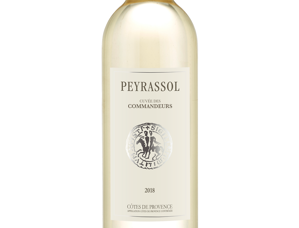 Cuvée des commandeurs - Château Peyrassol - Blanc
