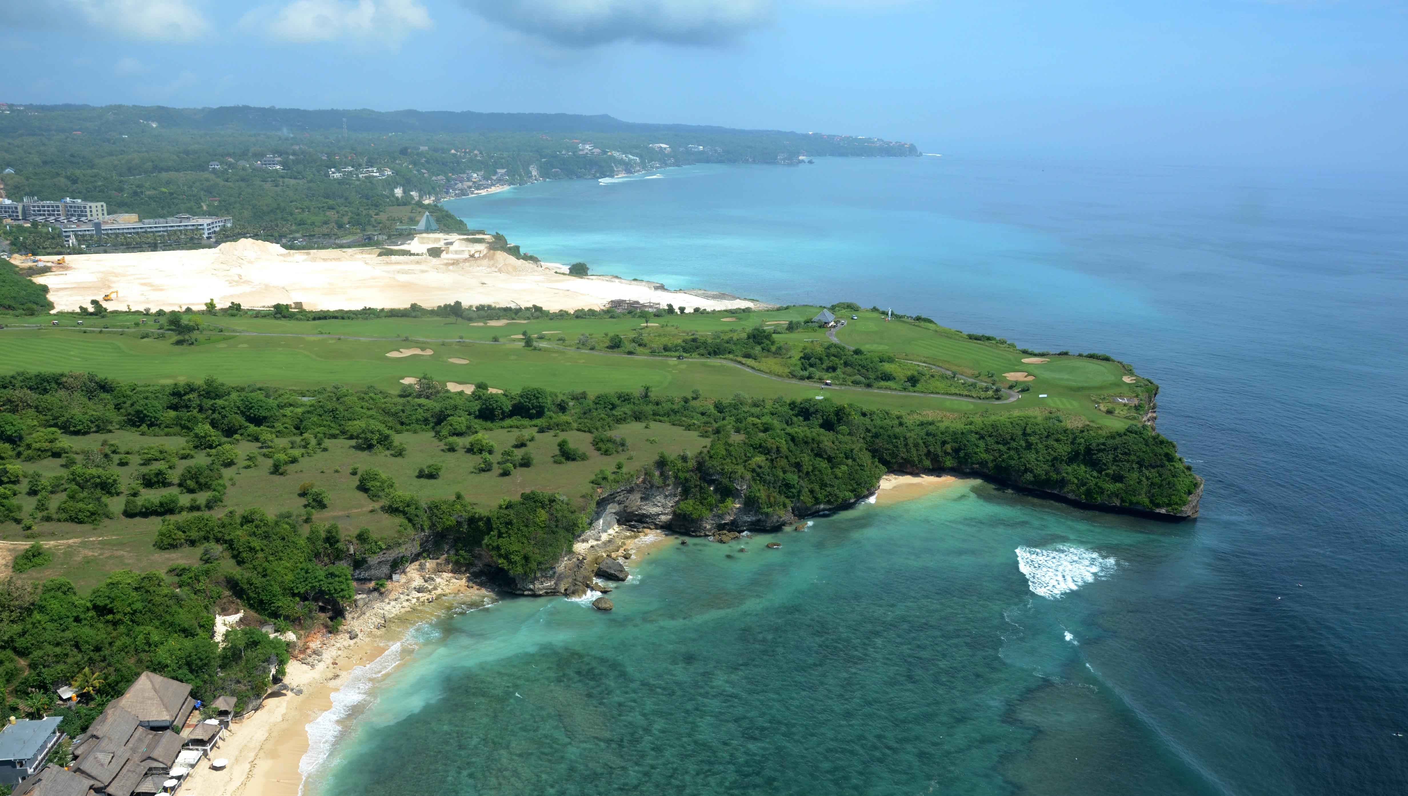 Aerial View - New Kuta Golf
