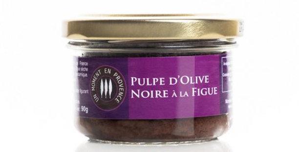 Pulpe d'Olive Noire à la Figue