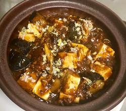 茄子と豆腐のアヒージョ
