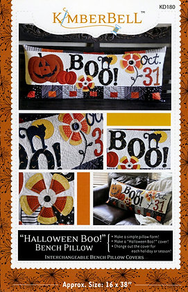 Halloween Boo! Bench Pillow by Kimberbell