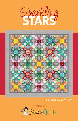 Sparkling Stars by Christa Quilts